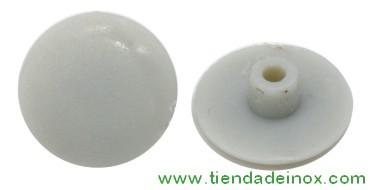Tapones de plástico para tornillos de acero inox