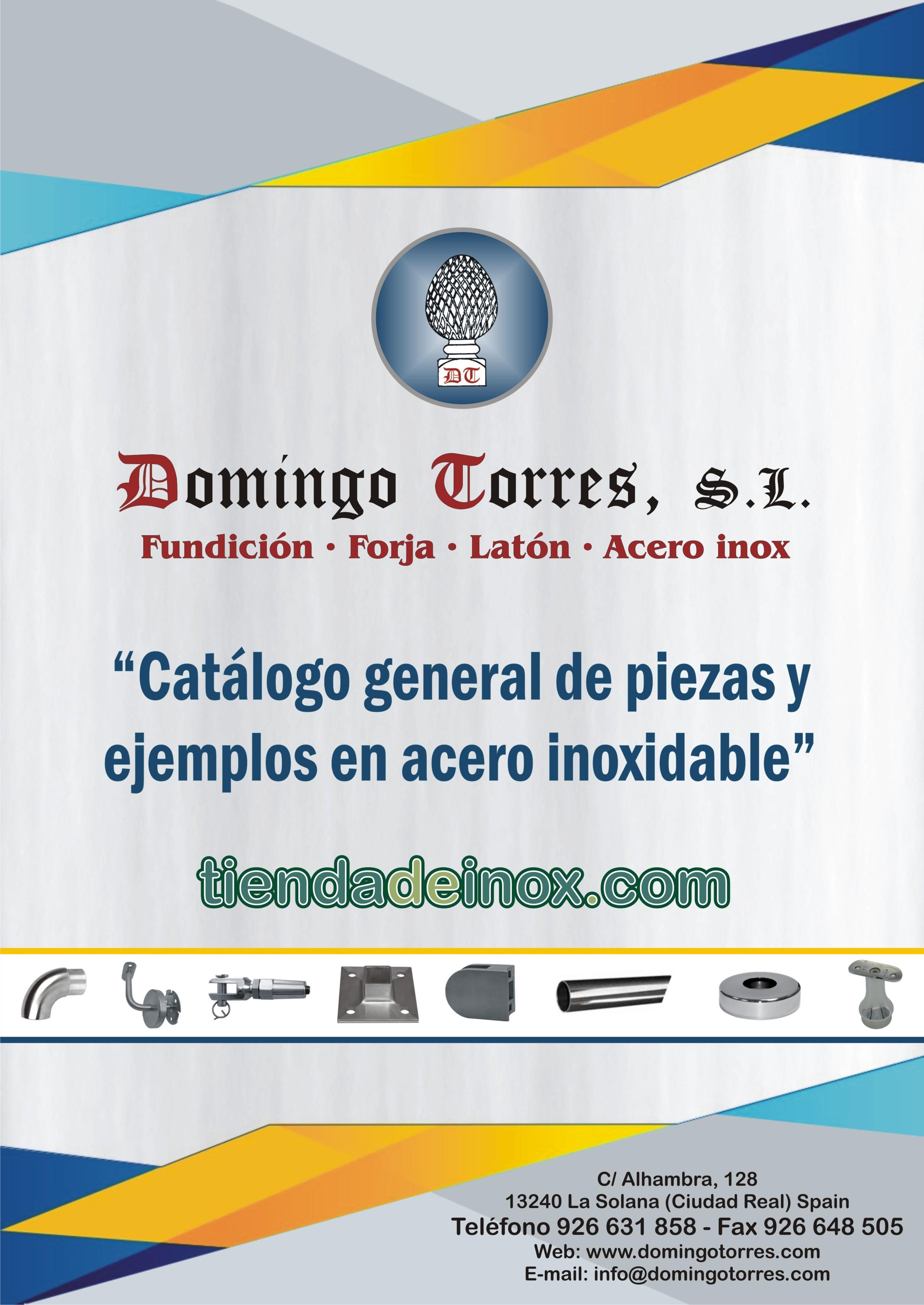 Catálogo de piezas y ejemplos de acero inoxidable