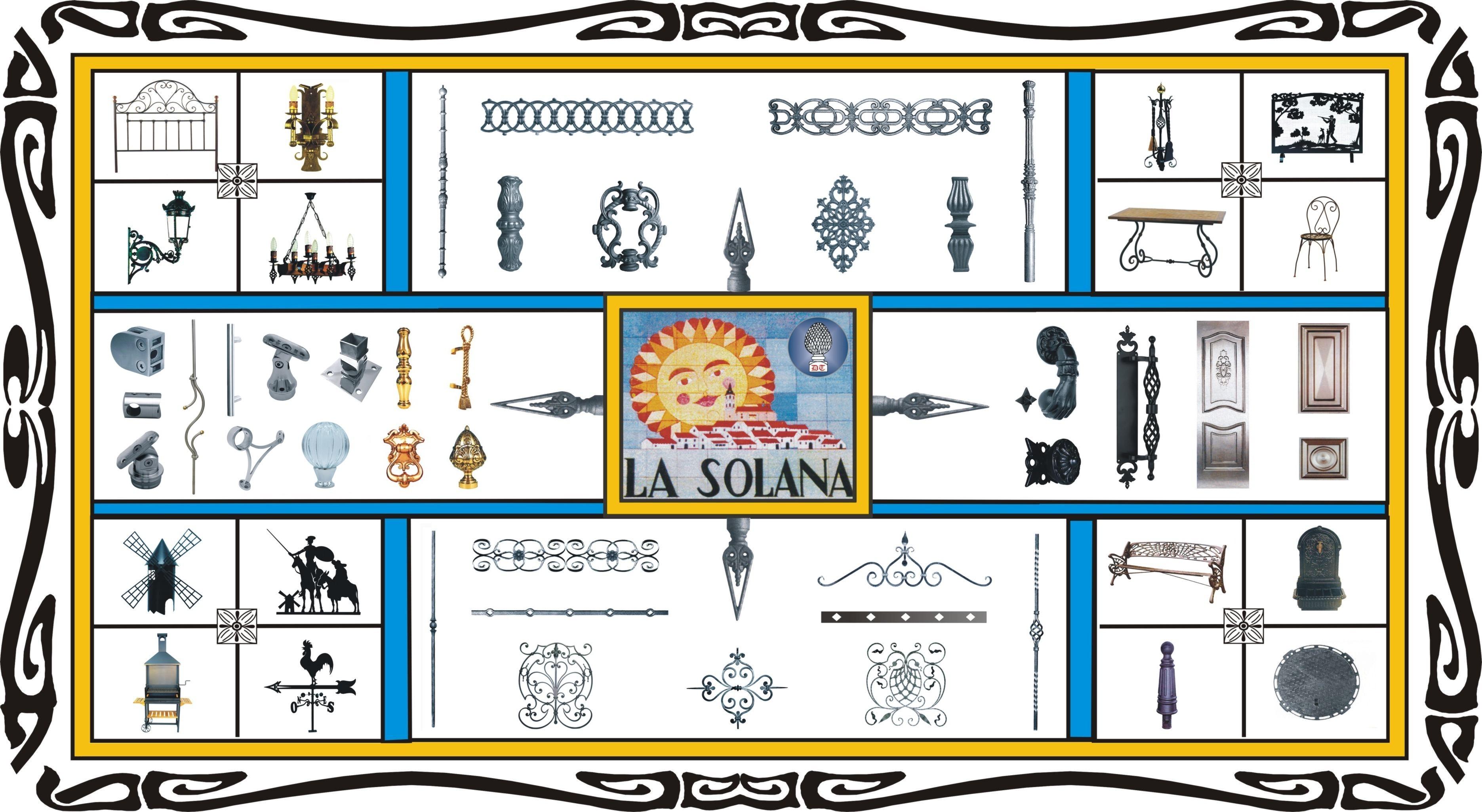 Piezas, herrajes y accesorios de acero inoxidable, fundición, forja y latón de Domingo Torres S.L.
